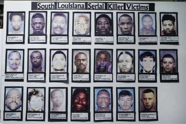 Victims Of The Bayou Serial Killer