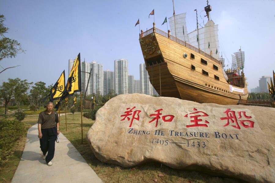 Zheng He Boat Replica