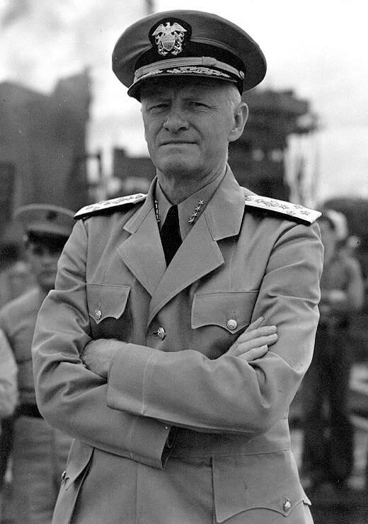 Admiral Chester Nimitz