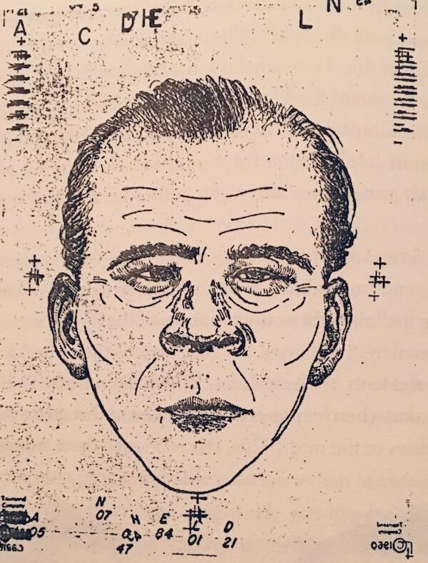Sketch Of Albert Johnson