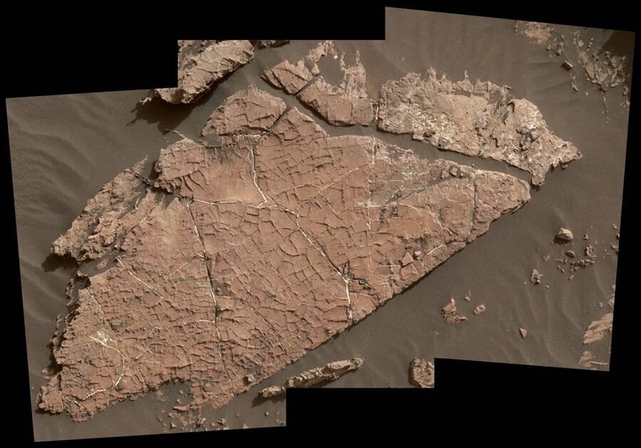 Antigos lagos salgados em Marte
