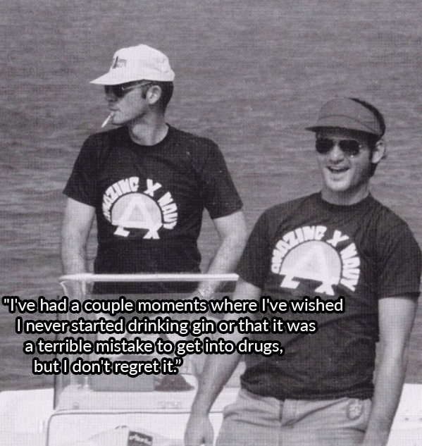 Bill Murray Boating With Hunter S Thompson