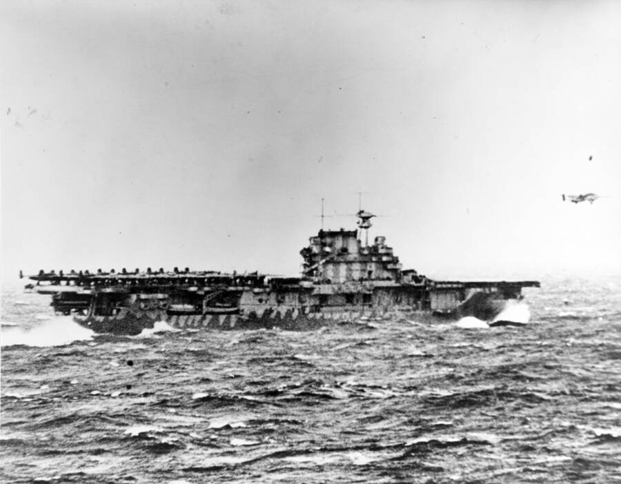 Bomber Launching Doolittle Raid