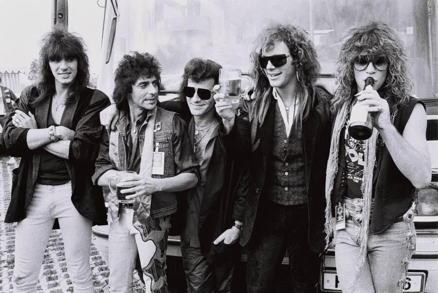 Bon Jovi Mosters Of Rock