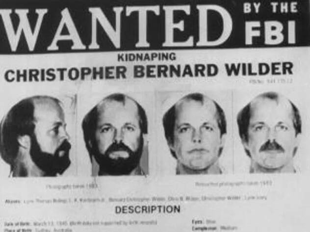 Christopher Wilder Wanted Poster