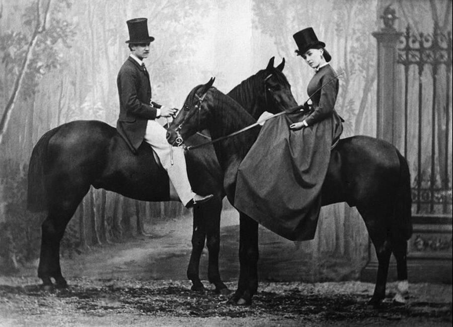 Cora Pearl And Prince Achille Murat