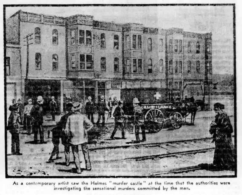 Crime Scene Illustration From 1937 Newspaper