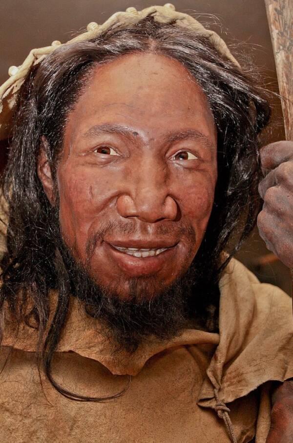 Depiction Of Homo Sapien Man