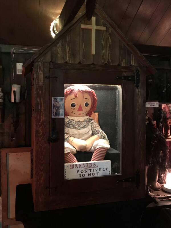 The Doll Behind The True Story Of Annabelle