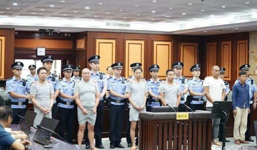 Five Hitmen In Guangxi Court