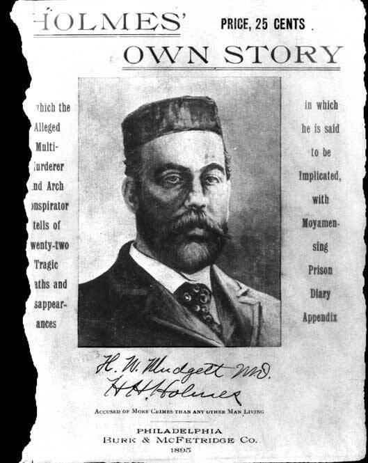 H.H. Holmes' Account