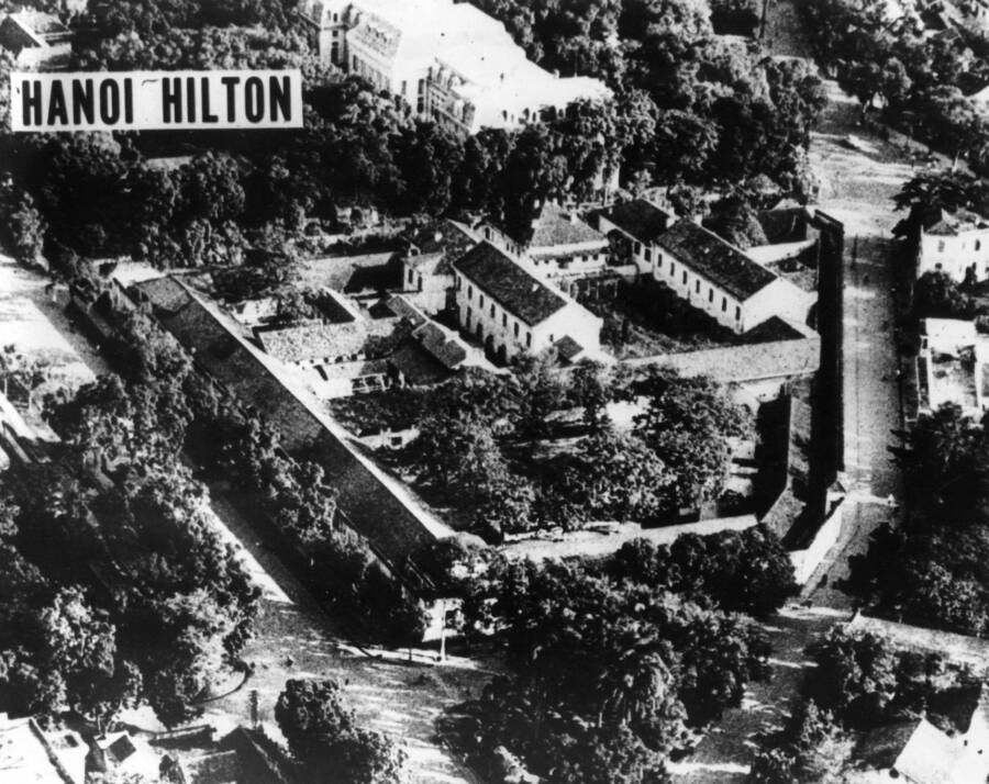 Hanoi Hilton Aerial View