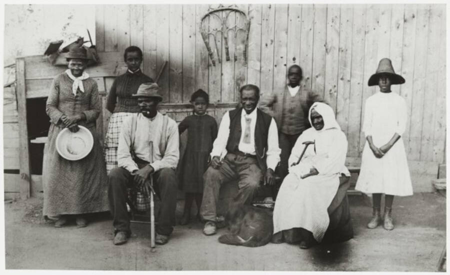 Harriet Tubman Gertie Davis Nelson Davis And Family