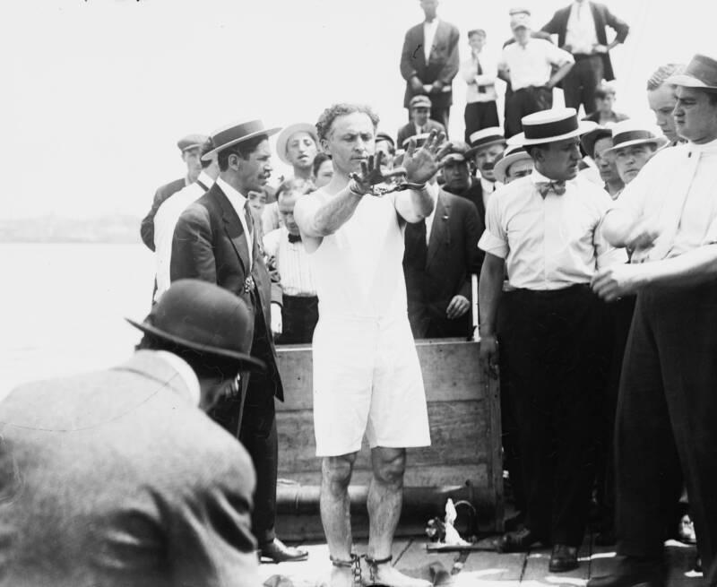 Harry Houdini In 1912