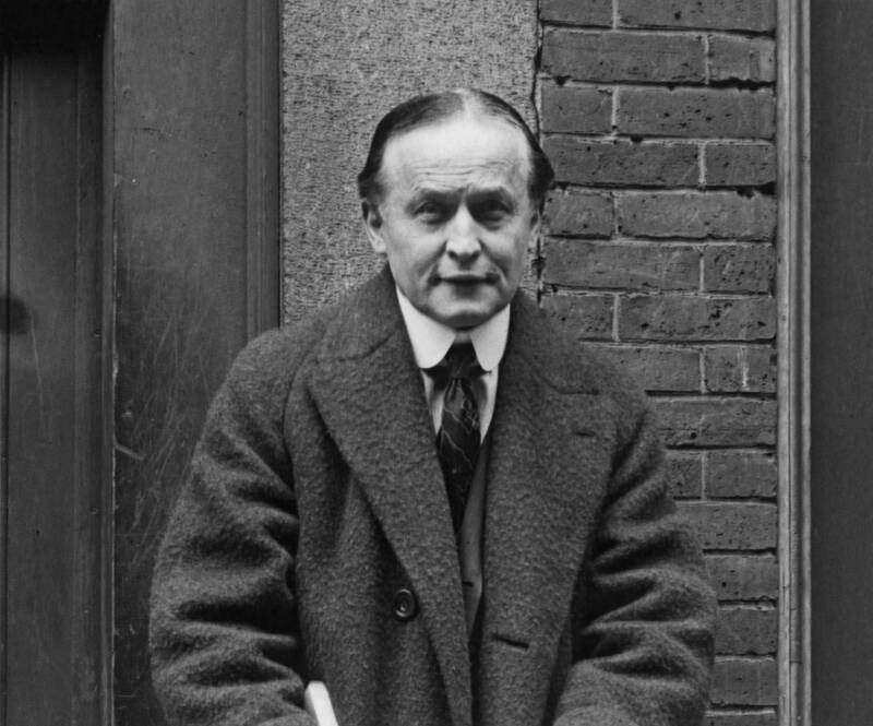 Harry Houdini In 1925