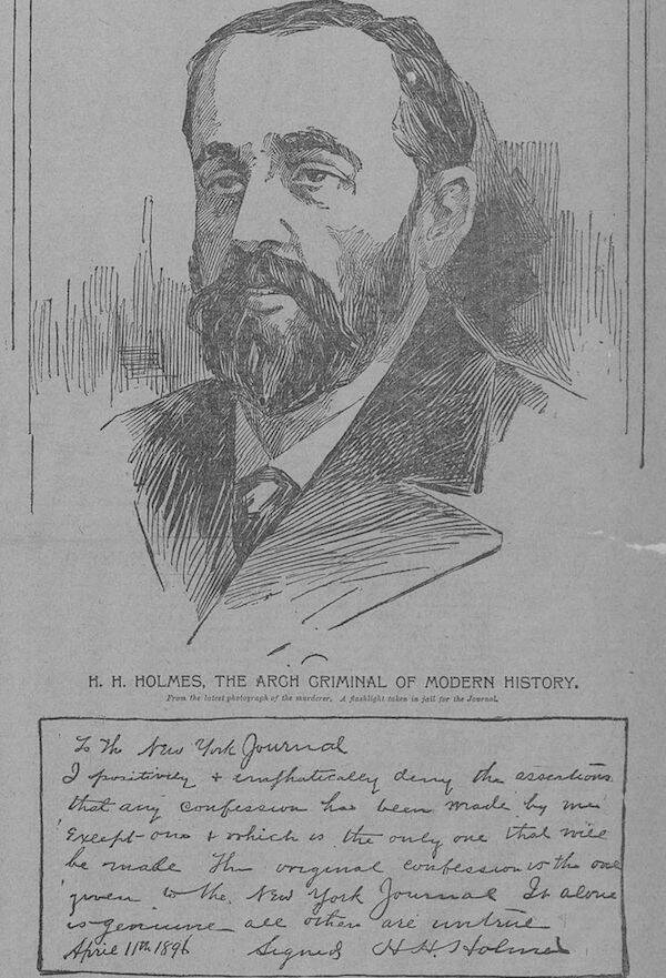H.H. Holmes' Confession