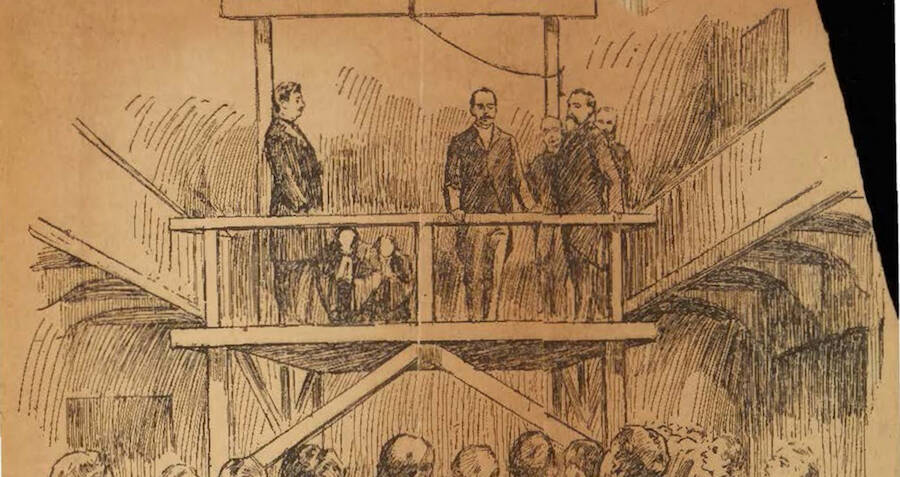 H.H. Holmes' Execution