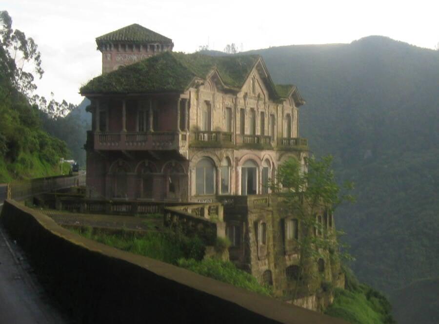 Hotel Del Salto From Afar