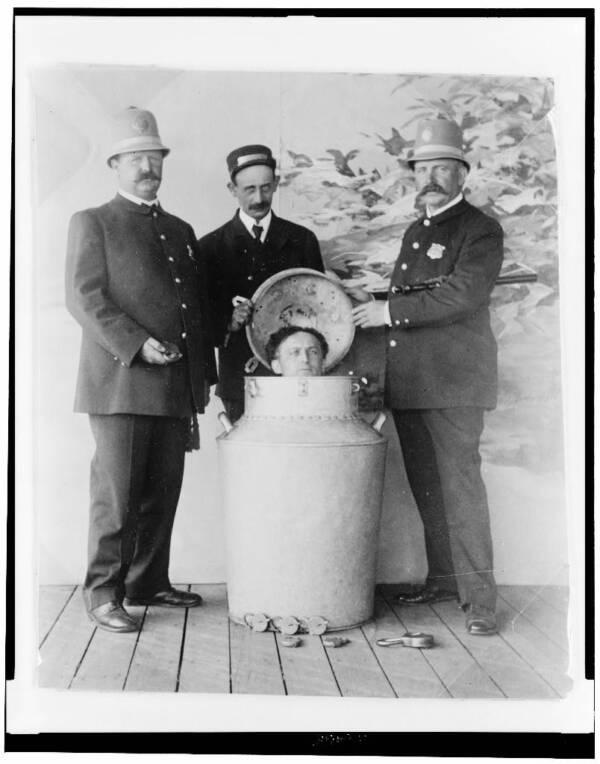 Houdini Milkcan Escape