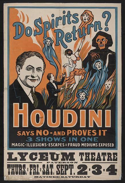 Houdini Show Poster