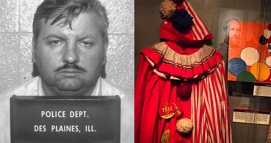 John Wayne Gacy Mug Shot And Costume