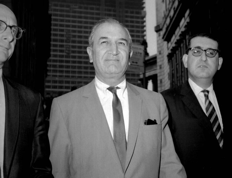 Joseph Bonanno Leaving Federal Court