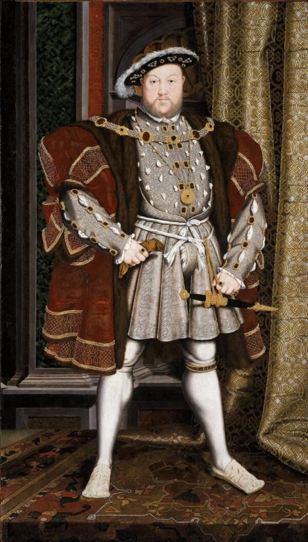 King Henry VIII Standing Portrait