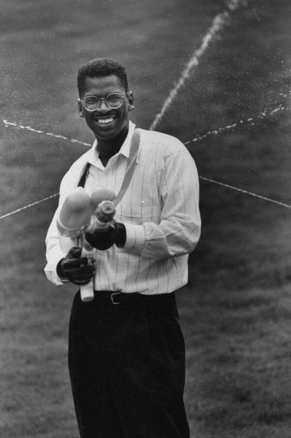 Lonnie Johnson Shooting Super Soaker
