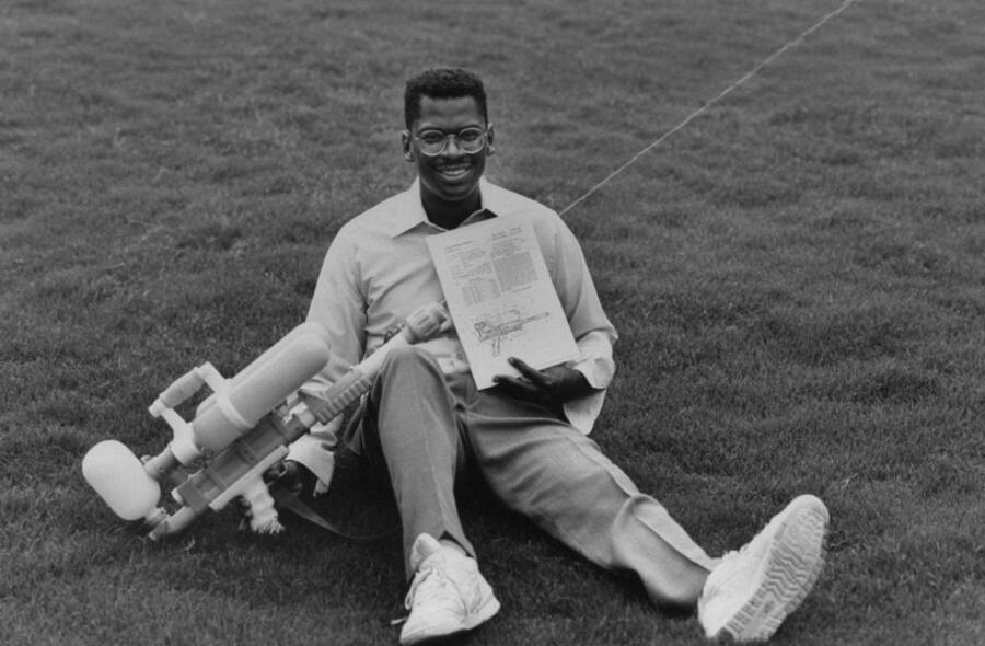 Lonnie Johnson With Super Soaker