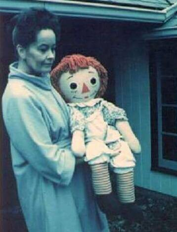 The Story Of The Real Life Annabelle Doll