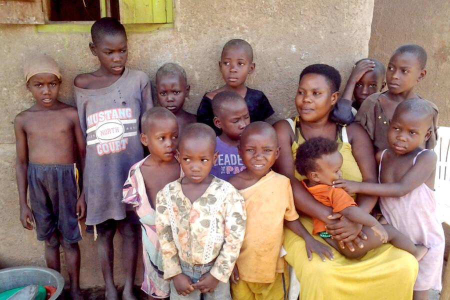 Mariam Nabatanzi And Twelve Children