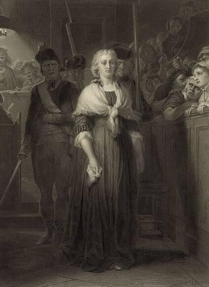 Marie Antoinette Revolutionary Tribunal
