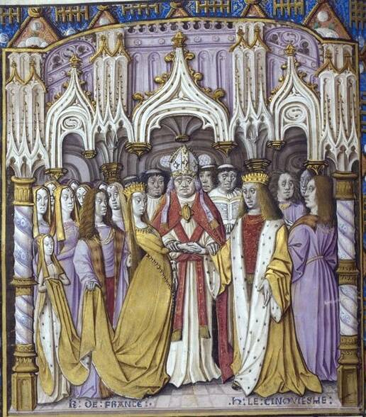 Marriage Of Henry V And Catherine Of Valois