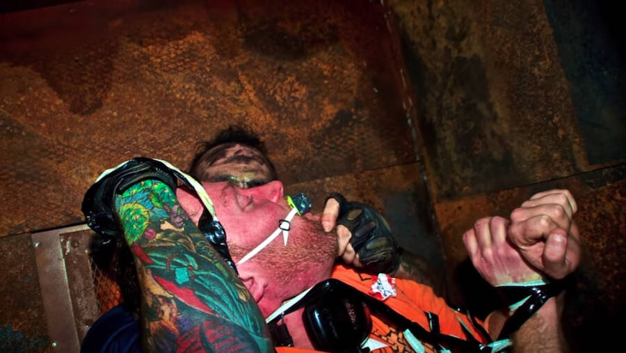 McKamey Manor Participant Gets Tied Up