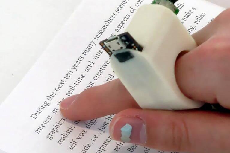 MIT Finger Reader