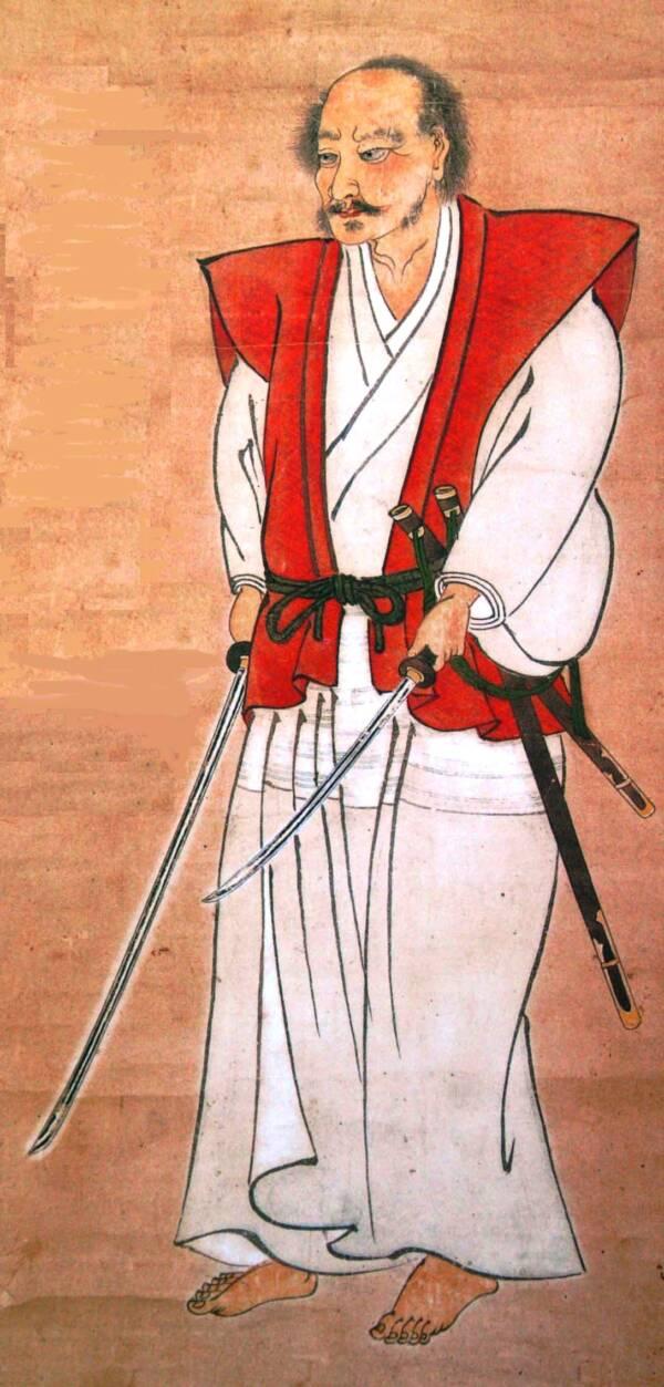 Miyamoto Musashi Self Portrait