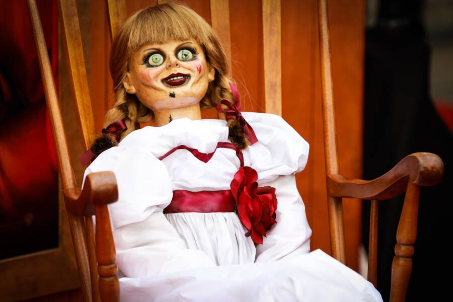 The Annabelle Doll From The Movies