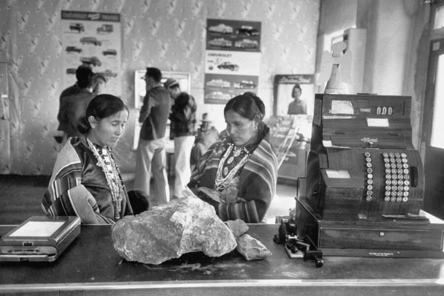 Navajo Women And Uranium