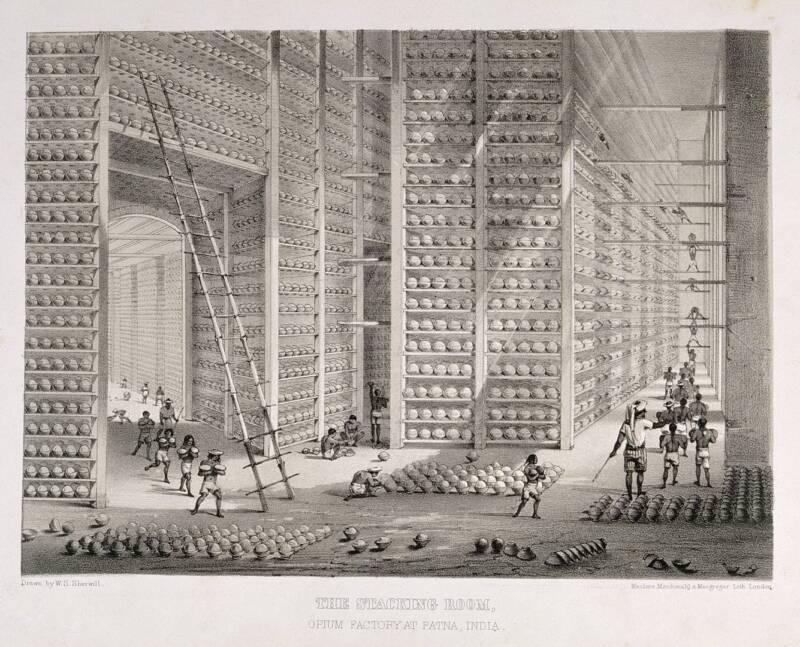 Opium Storage