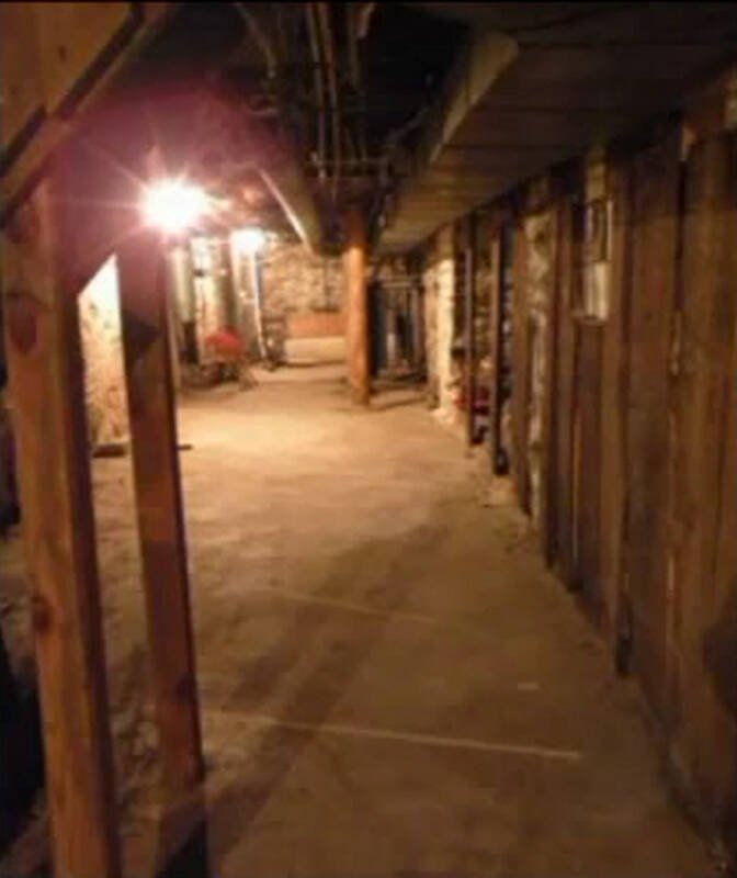 The Perron Family's Haunted Basement