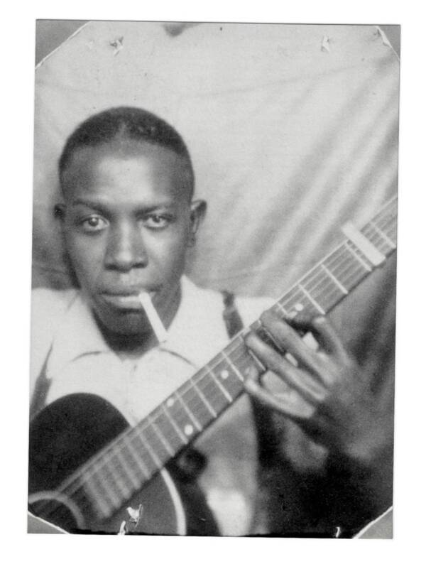 Photobooth Picture Of Robert Johnson
