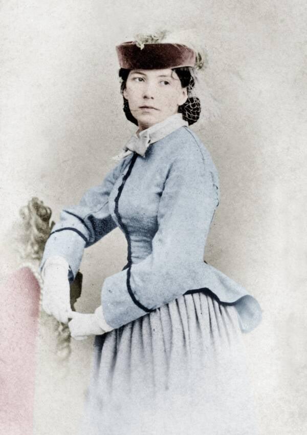 Portrait Of Cora Pearl