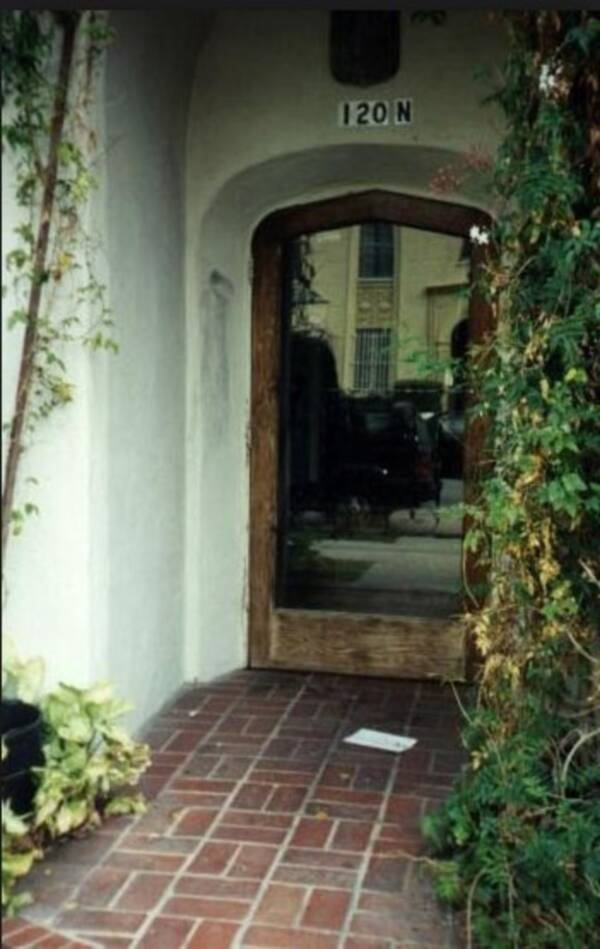 Schaeffer's Doorway Where She Was Shot