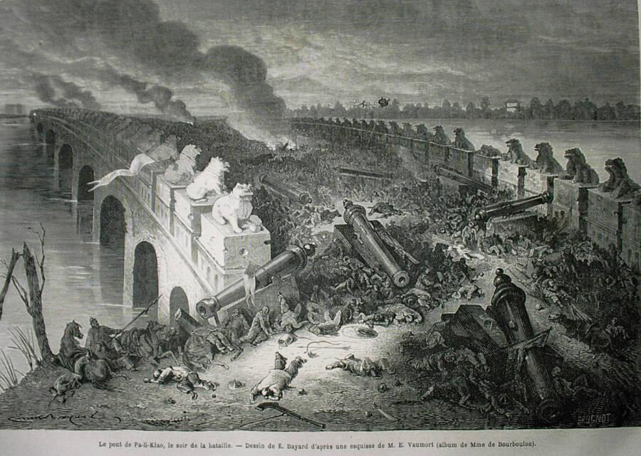 A Batalha de Palikiao na Segunda Guerra do Ópio