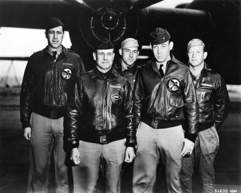 The Crew Of The Doolittle Raid