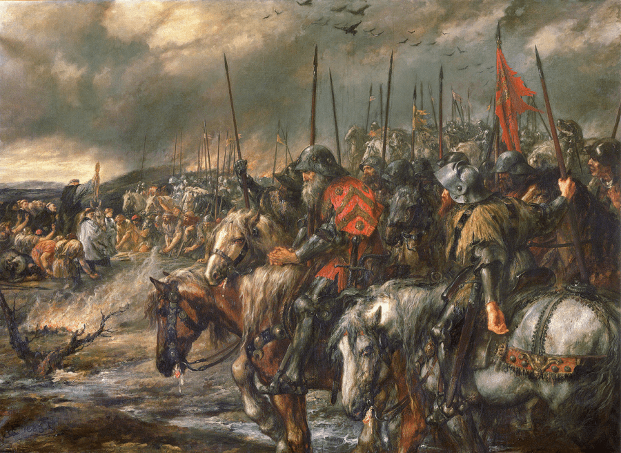 The Morning At The Battle Of Agincourt