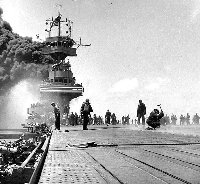 Yorktown Burning