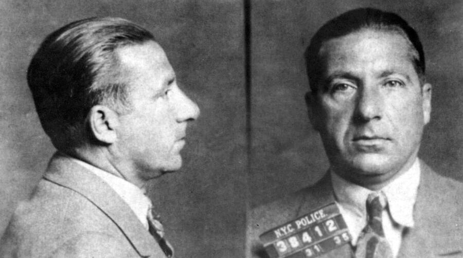 An Early Mugshot Of Frank Costello
