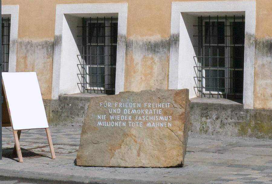 Anti Fascism Memorial In Braunau