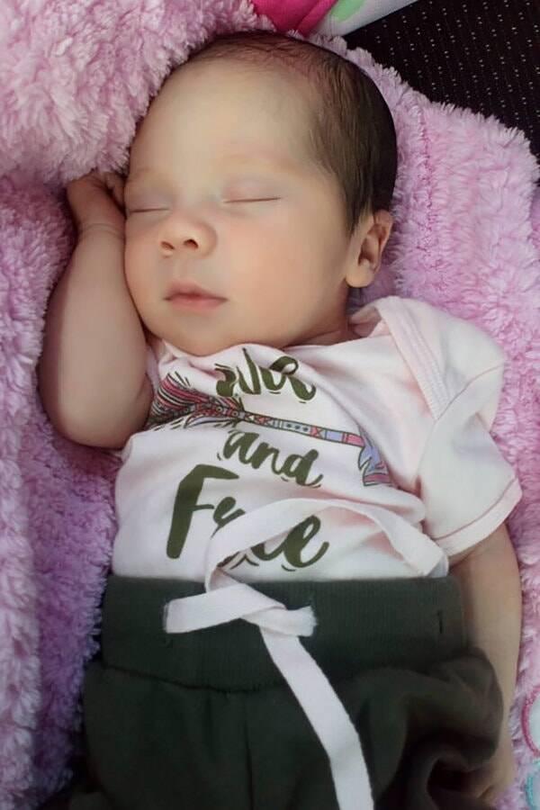 Baby Itzmara After Surgery